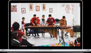 Ritmo y percusion taller didáctico Rafa Navarro