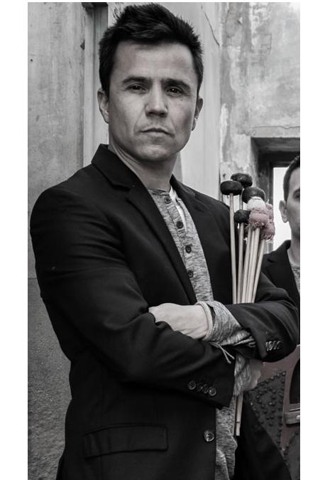 Rafa Navarro percusionista y compositor