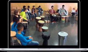 Concierto didáctico «El Mundo en el Aula» Rafa Navarro